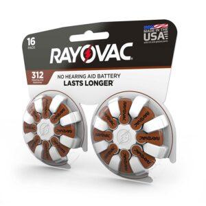 Rayovac Proline Batteries Size 312A (16 pack)
